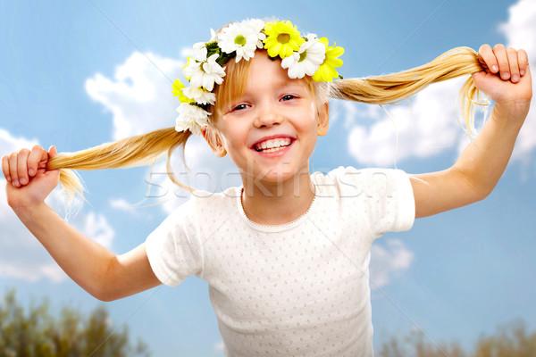 Funny girl Stock photo © pressmaster