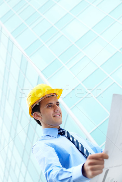 Plan of office building Stock photo © pressmaster