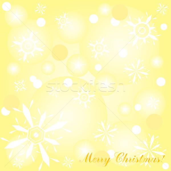 Stock photo: yellow backdrop