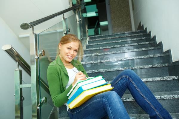 Happy learner Stock photo © pressmaster