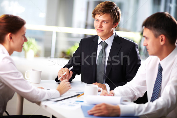 Interview Stock photo © pressmaster