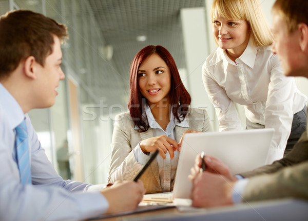 Cheerful in business Stock photo © pressmaster