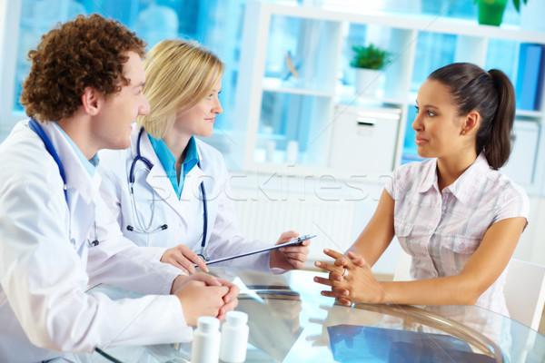 Stock photo: Medical consultation