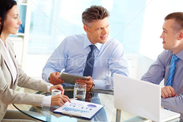 Fruitful discussion Stock photo © pressmaster