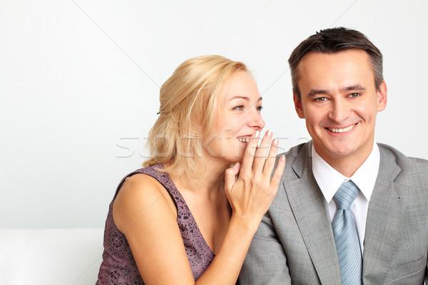 Couple secret Stock photo © pressmaster