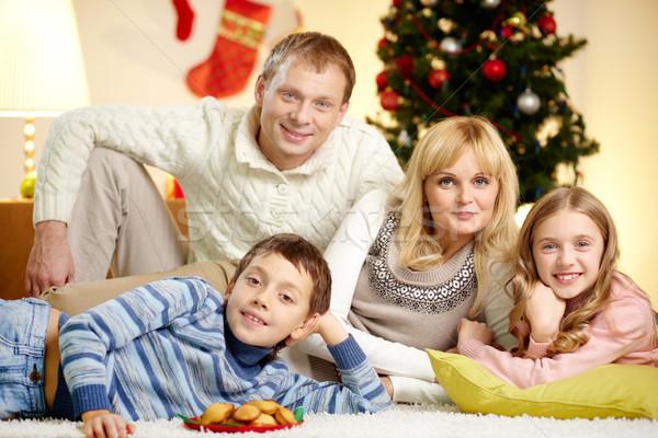 Family resting Stock photo © pressmaster