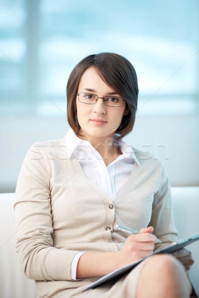 Pessoal conselheiro retrato bastante pronto Foto stock © pressmaster