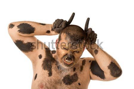 Bull man Stock photo © pressmaster