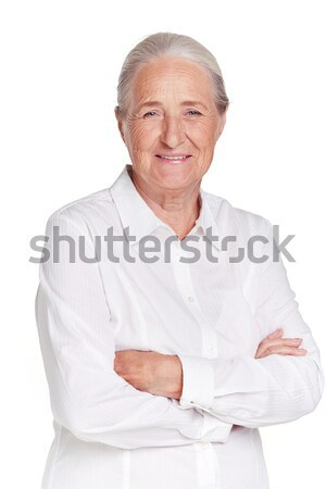 Elderly woman Stock photo © pressmaster