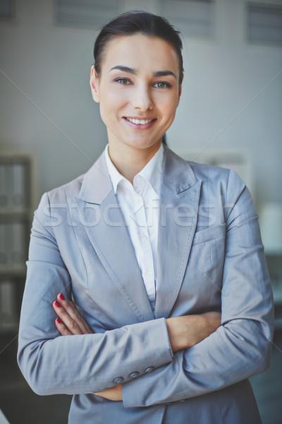 Pretty employee Stock photo © pressmaster