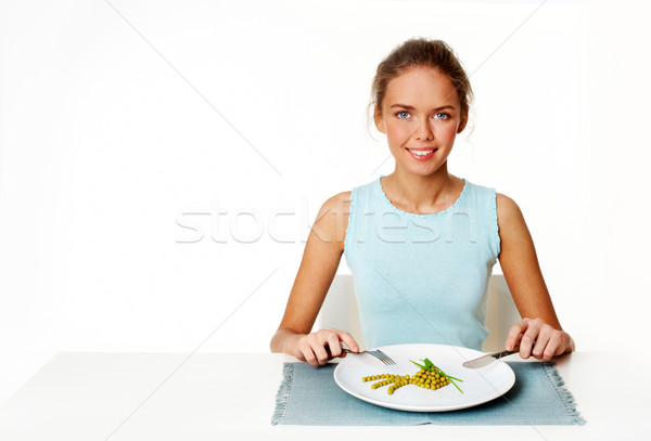 Girl on diet Stock photo © pressmaster