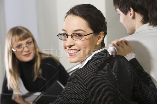 Smile of success Stock photo © pressmaster