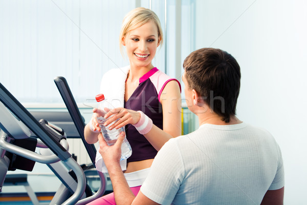 During sport training  Stock photo © pressmaster