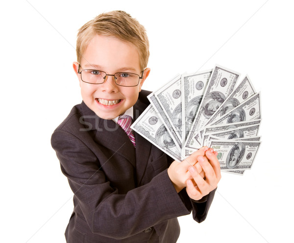 Wealthy boy Stock photo © pressmaster