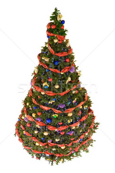 Decorated firtree Stock photo © pressmaster