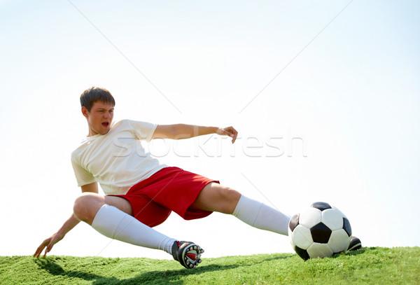 Energetic kick Stock photo © pressmaster