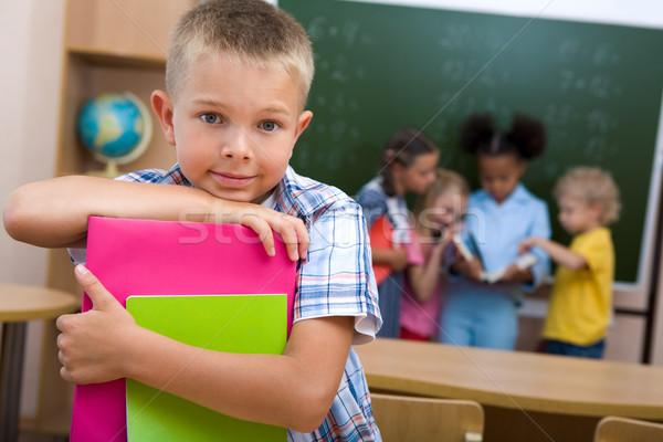 勤勉な 画像 スマート 男子生徒 見える カメラ ストックフォト © pressmaster