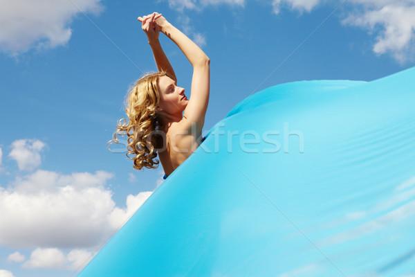 Bright blue  Stock photo © pressmaster
