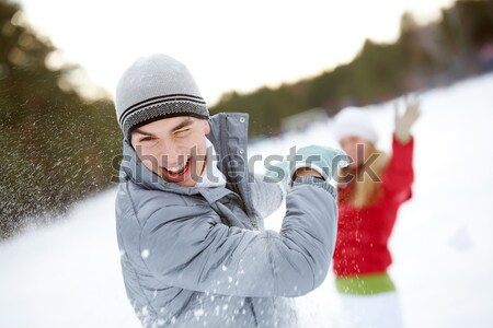 Guy laughing Stock photo © pressmaster