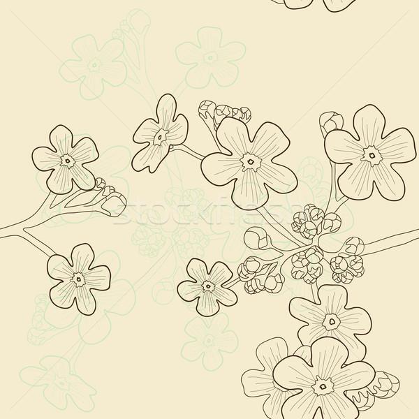 Bege primavera abstrato fundo beleza Foto stock © pressmaster