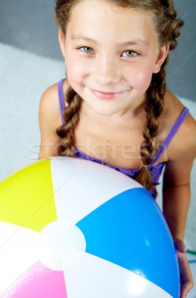 Szczęśliwy dziecko portret młodych uśmiechnięty Zdjęcia stock © pressmaster