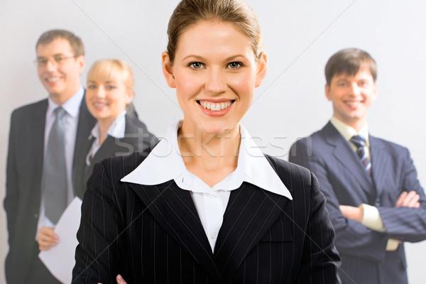 Business leader Stock photo © pressmaster