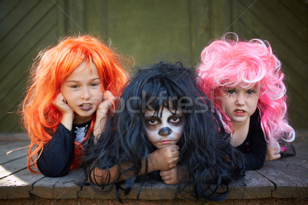 Company of witches Stock photo © pressmaster