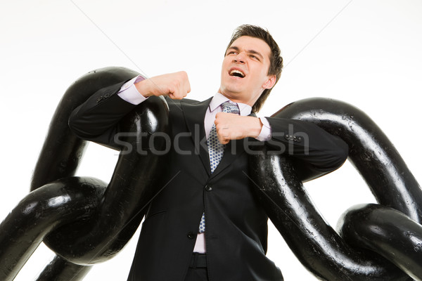 Heavy chain Stock photo © pressmaster