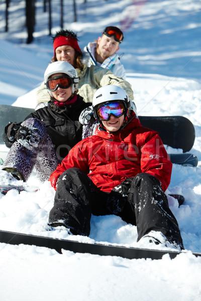 Winter fun Stock photo © pressmaster