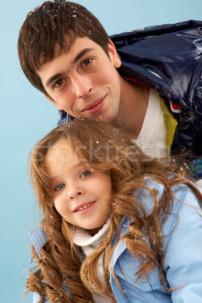 Stock photo: Parent and child