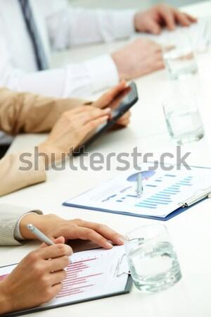 Business graphs Stock photo © pressmaster