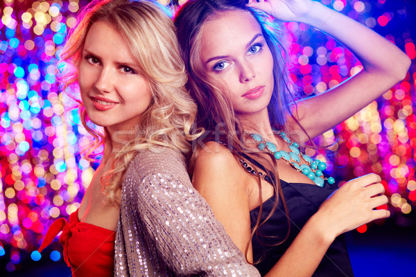 Nightclub beauties Stock photo © pressmaster