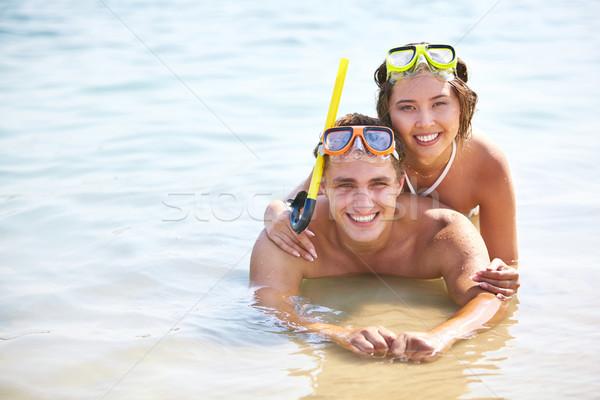 Smiling divers Stock photo © pressmaster