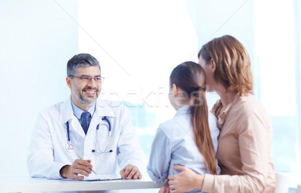 Medical consultation Stock photo © pressmaster