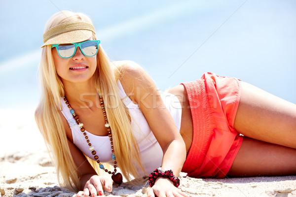 Beautiful girl Stock photo © pressmaster