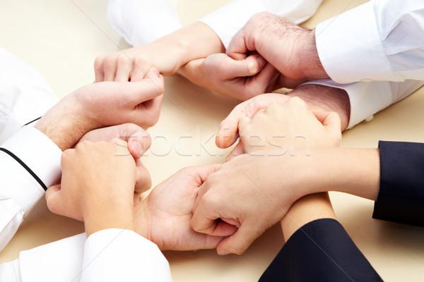 изображение деловые люди рук другой поддержки Сток-фото © pressmaster