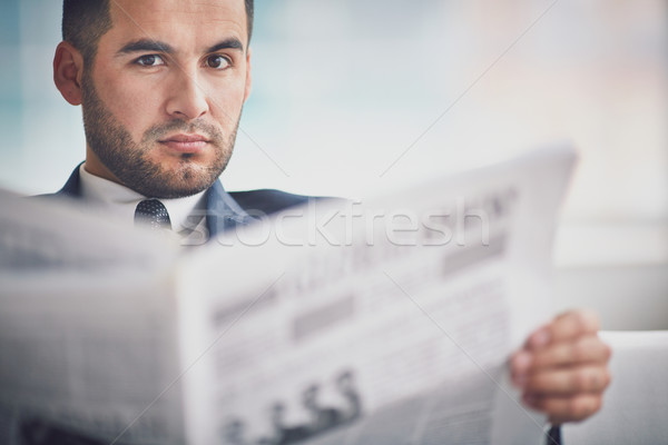 Fresh news Stock photo © pressmaster