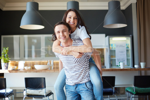 Affectionate couple Stock photo © pressmaster
