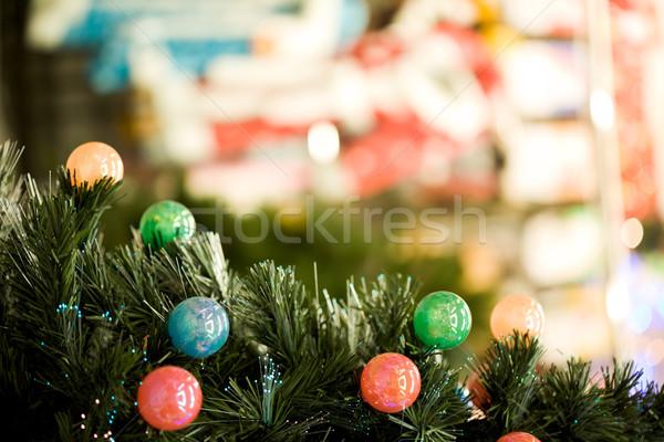 Stockfoto: Guirlande · kleurrijk · omhoog · klein