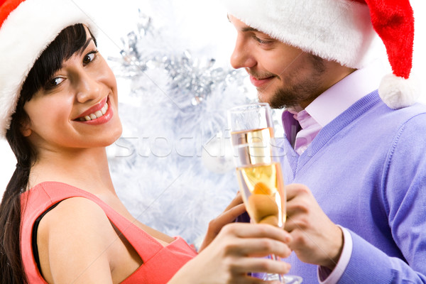 Woman with champagne Stock photo © pressmaster