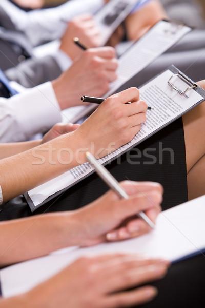 At conference Stock photo © pressmaster