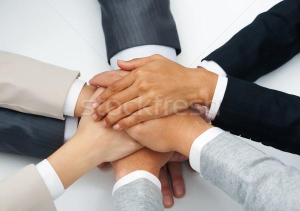 рук изображение деловые люди Top другой Сток-фото © pressmaster