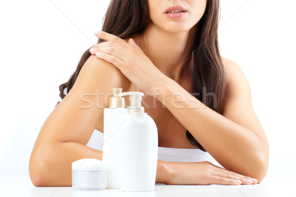 Skin hygiene Stock photo © pressmaster