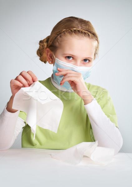 Flu epidemy Stock photo © pressmaster