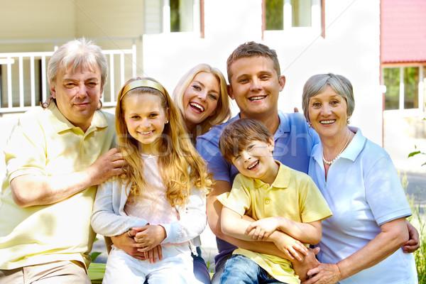 Three generations Stock photo © pressmaster