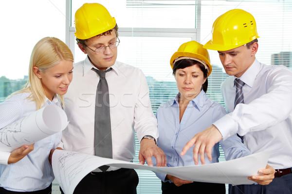 Team of engineers Stock photo © pressmaster