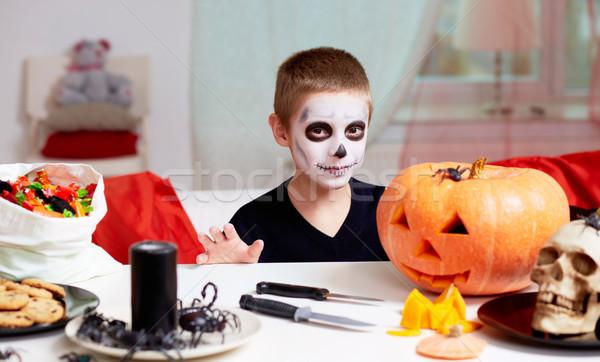 Halloween boy Stock photo © pressmaster