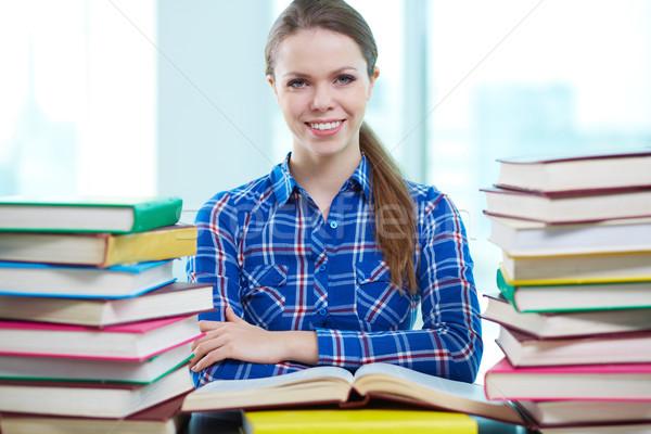 Smart student Stock photo © pressmaster