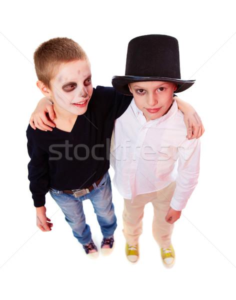 Friendly siblings Stock photo © pressmaster