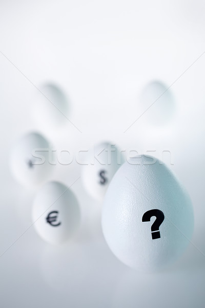 Egg with question Stock photo © pressmaster